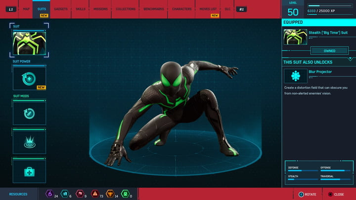 marvels spider man ps4 how to unlock every suit marvel s 20181213103505