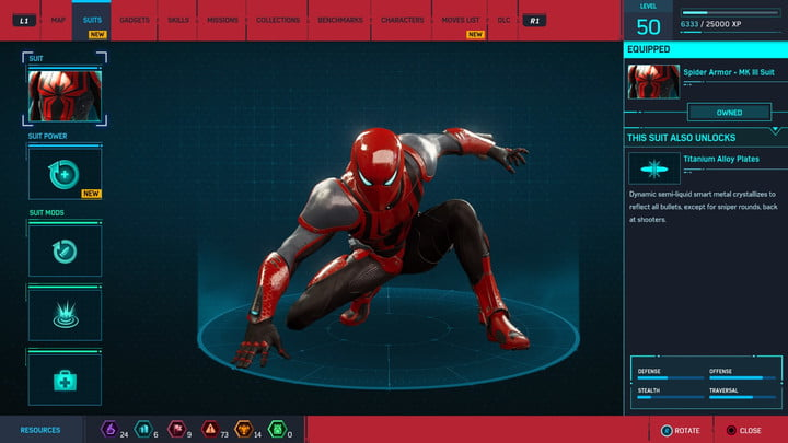 marvels spider man ps4 how to unlock every suit marvel s 20181213103511
