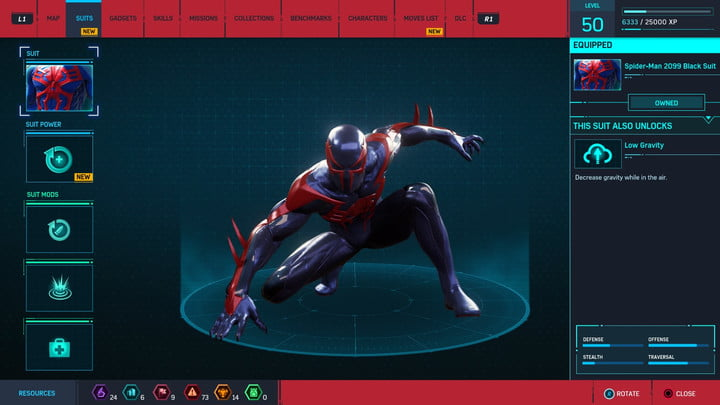 marvels spider man ps4 how to unlock every suit marvel s 20181213103518