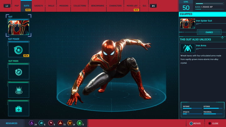 marvels spider man ps4 how to unlock every suit marvel s 20181213103524