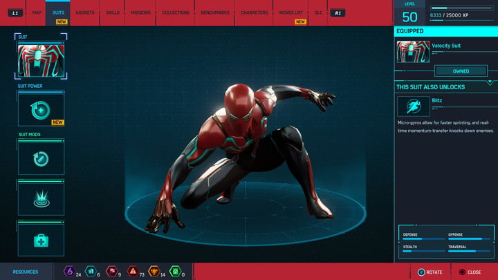 marvels spider man ps4 how to unlock every suit marvel s 20181213103530