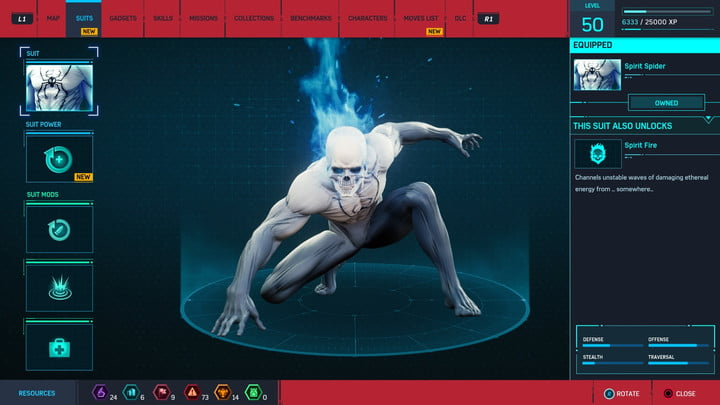 marvels spider man ps4 how to unlock every suit marvel s 20181213103542