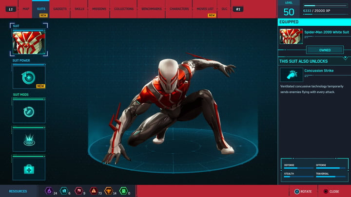 marvels spider man ps4 how to unlock every suit marvel s 20181213103549