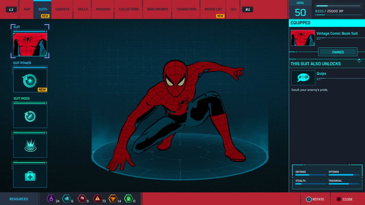 marvels spider man ps4 how to unlock every suit marvel s 20181213103555