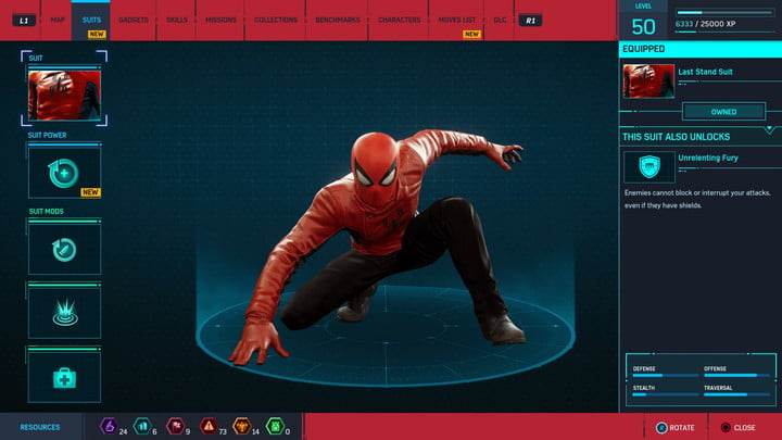 marvels spider man ps4 how to unlock every suit marvel s 20181213103602