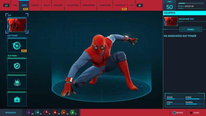 marvels spider man ps4 how to unlock every suit marvel s 20181213103614