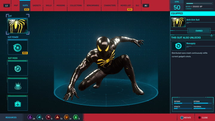 marvels spider man ps4 how to unlock every suit marvel s 20181213103631