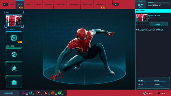 marvels spider man ps4 how to unlock every suit marvel s 20181213103653