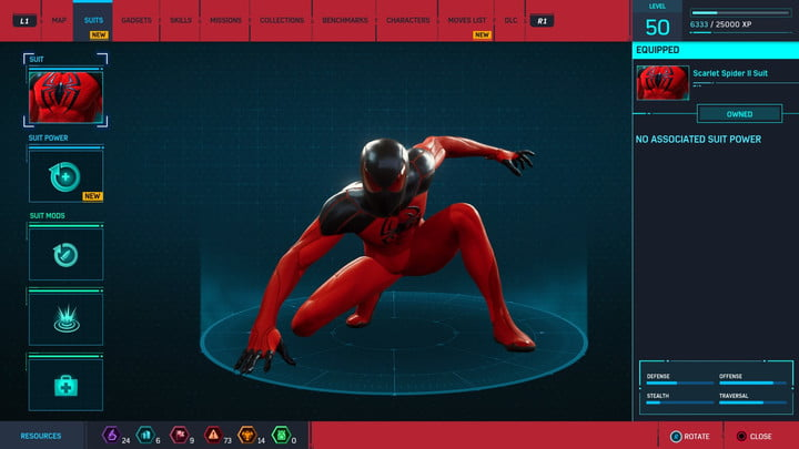 marvels spider man ps4 how to unlock every suit marvel s 20181213103659