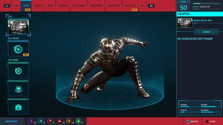 marvels spider man ps4 how to unlock every suit marvel s 20181213103718