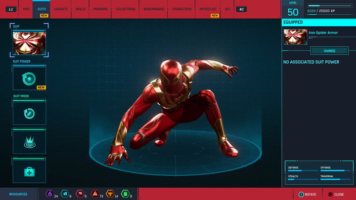marvels spider man ps4 how to unlock every suit marvel s 20181213103728
