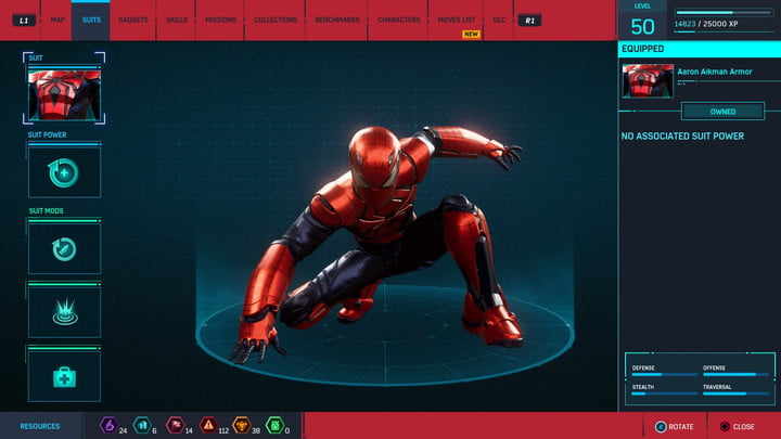 marvels spider man ps4 how to unlock every suit marvel s 20181222170752