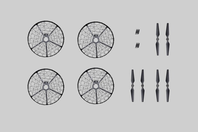dji launches mavic pro accessories propeller cage  quick release folding propellers