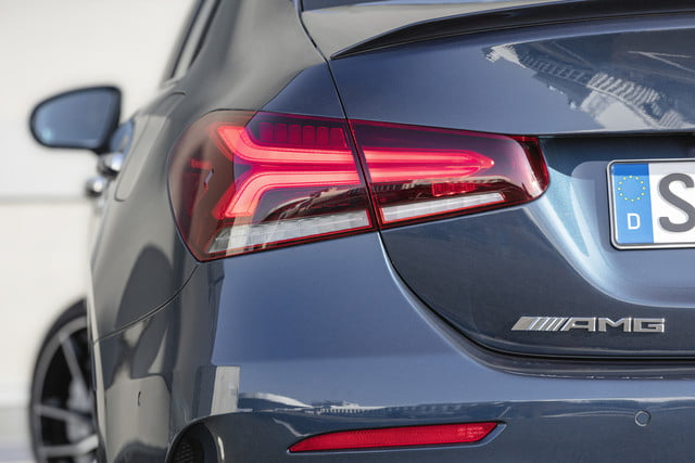 2020 mercedes amg a35 300 hp sport sedan is smart stylish and quick a 35 4matic limousine  s