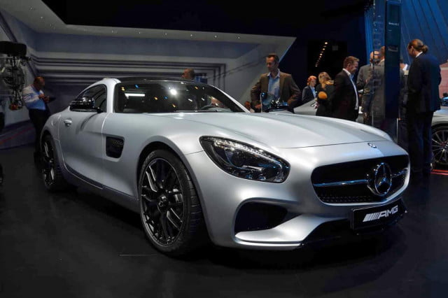 range topping mercedes amg gt edition 1 leaks paris showcase 8