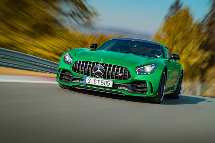 Mercedes-AMG's GT R blitzes the Nurburgring