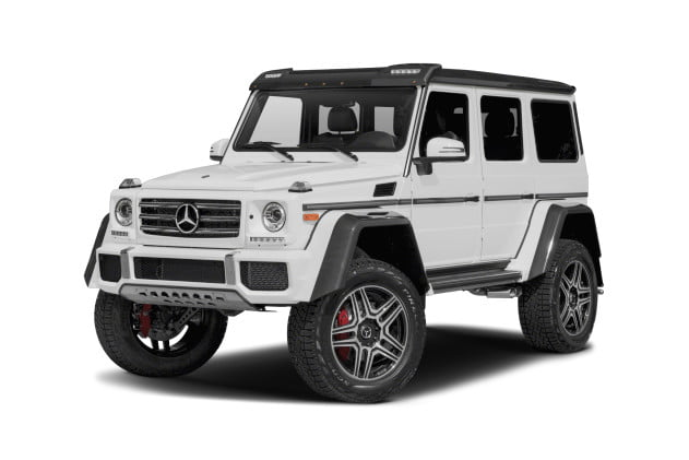 Mercedes Benz G550 4x4² Review | Pics, Performance, Specs | Digital Trends