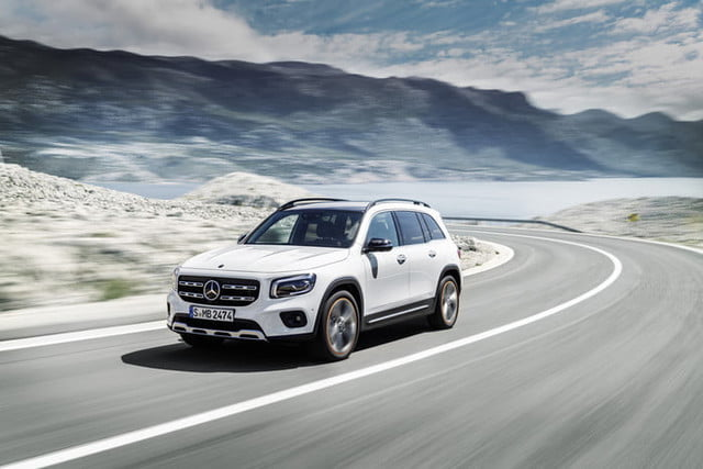 The 2020 Mercedes-Benz GLB is a junior G-Class with room for six of your friends