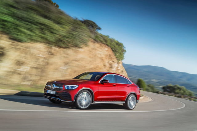 2020 Mercedes-Benz GLC coupe gets a tech upgrade, keeps quirky styling