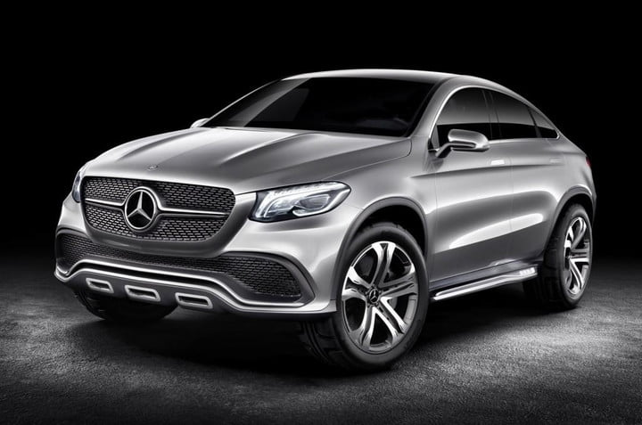 Mercedes Benz Previews Future Bmw X6 Rival Concept Coupe Suv Form Ahead Beijing Motor Show