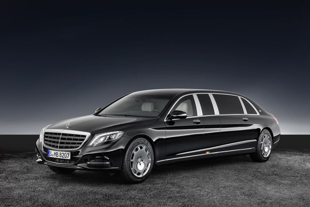 armored mercedes-maybach s600 | news, pictures, specs | digital trends