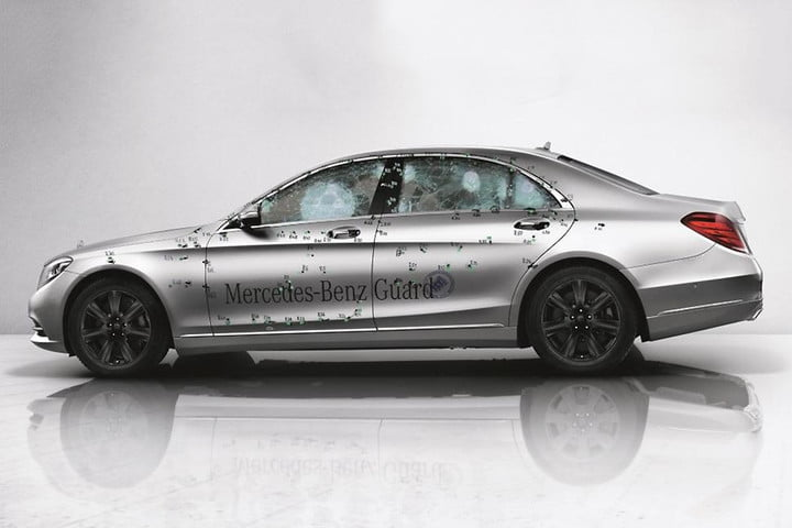 Mercedes-Benz S600 Guard armored car enters production | Digital Trends