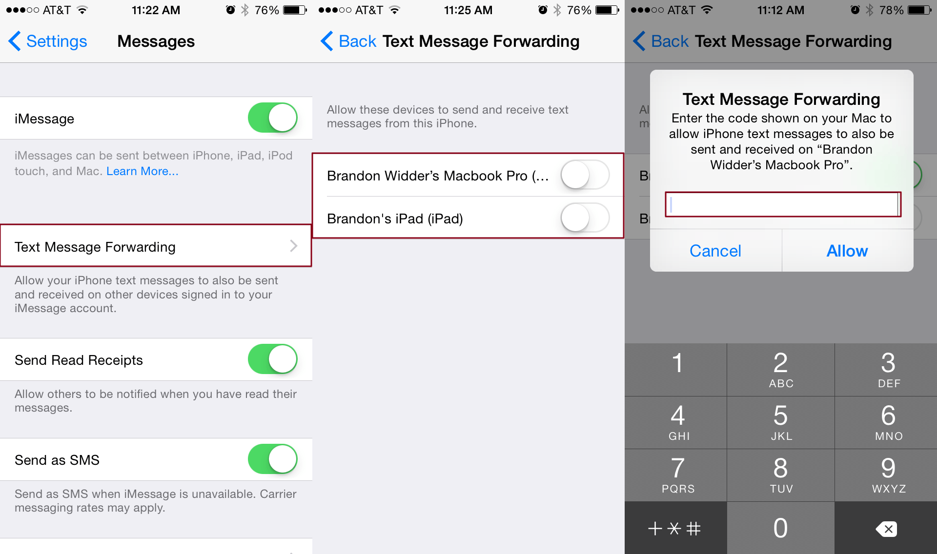 iphone app to view text messages