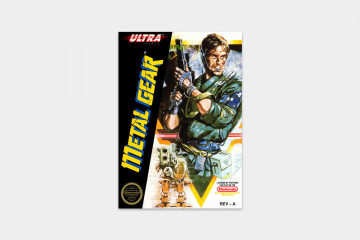 best nes games ever metal gear cover