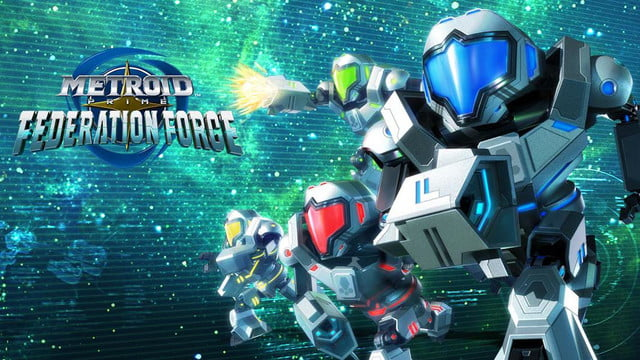 metroid prime federation force nintendo 3ds  4