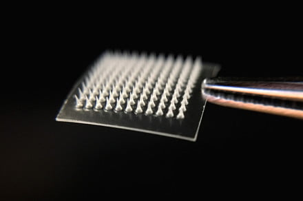 A microneedle skin patch could help melt fat off your body