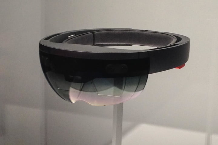 Microsoft HoloLens front angle