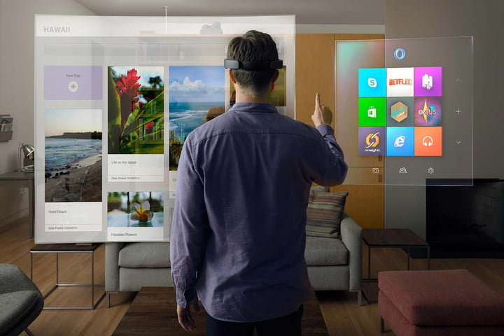 HoloLens virtual touchscreen is the futuristic tech we've been waiting for