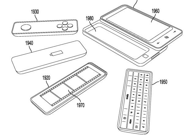 Microsoft patents smartphone keyboard that's swappable for