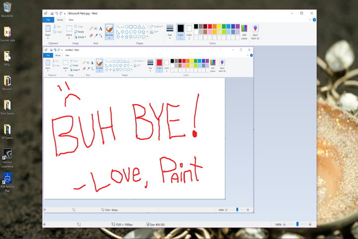 Microsoft reverses itself and extends new lifeline to MS Paint for Windows 10