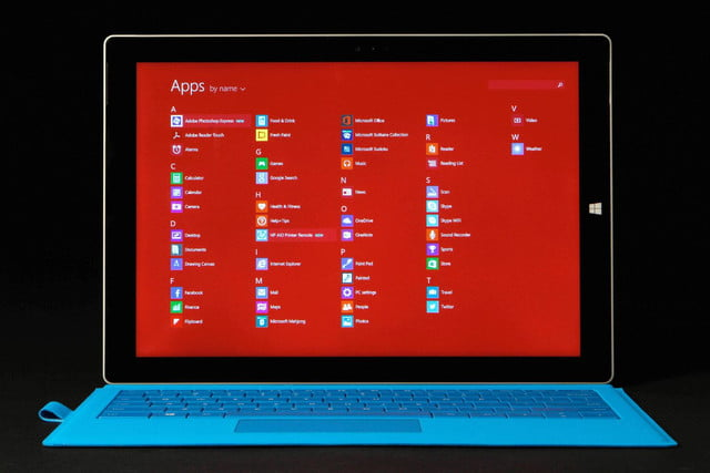 Microsoft SURFACE Pro 3 apps 2