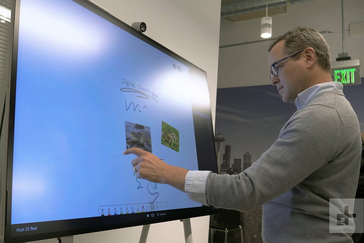 Microsoft Surface Hub 2 Hands On Review