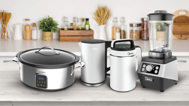 Midea Announces its Upcoming Line of Small Kitchen Appliances ...