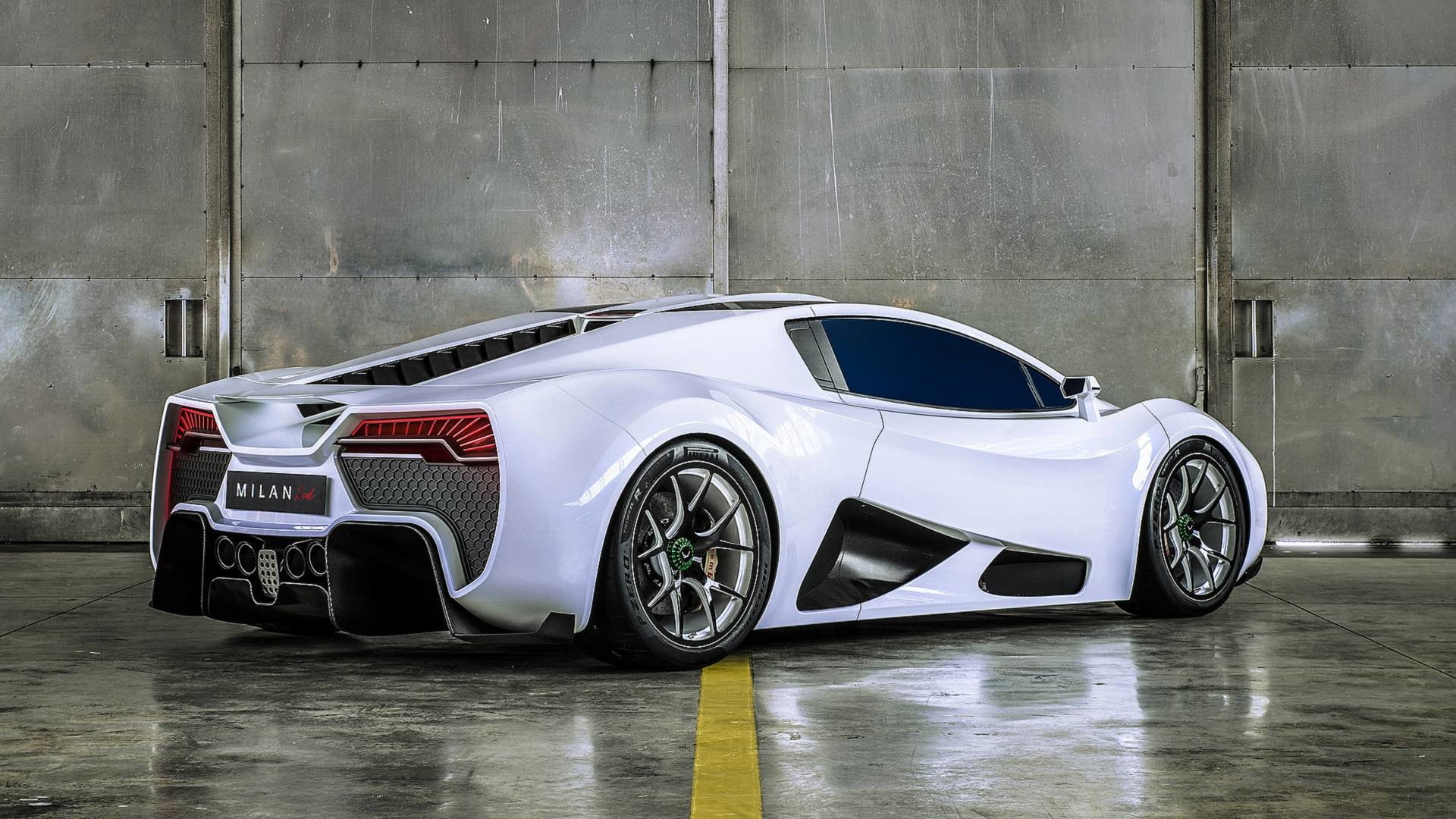 $2.3 Million, 249 mph Milan Red Hypercar Runs with 1,307 Horses | Digital  Trends