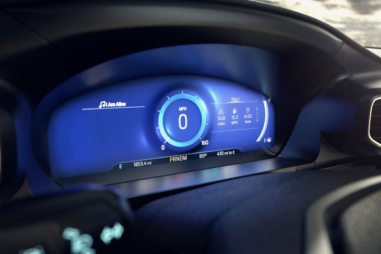 2020 Ford Explorer Digital Instrument Cer