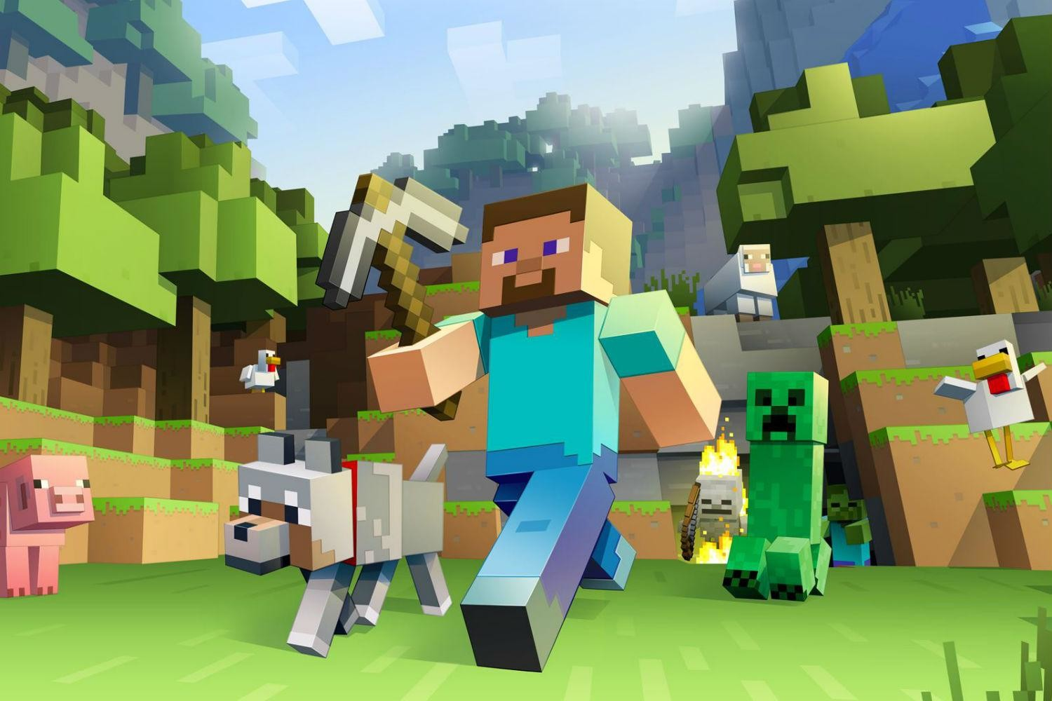 Microsoft Supports Youth Coding With Minecraft Themed Tutorial Digital Trends