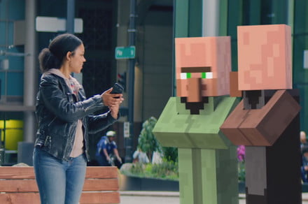 Minecraft AR teased during Microsoft Build 2019, full reveal arrives