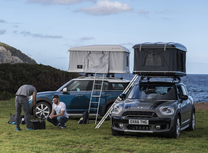 Autohome Partners With Mini To Design Custom Roof Tent Digital Trends
