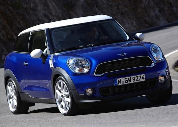 mini paceman the countryman 39 s less ugly sister car is now official and coming in march 2013. Black Bedroom Furniture Sets. Home Design Ideas