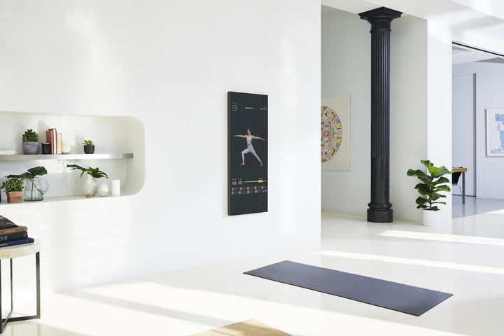 mirror at home gym experience on