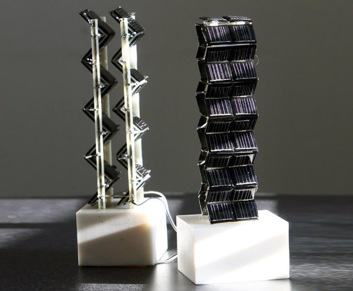 3d Solar Panels Can Produce 20 Times More Energy Than Flat