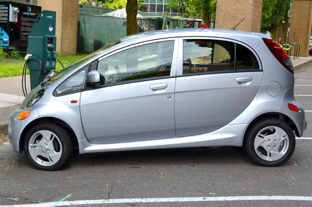 mitsubishi i miev review exterior left side