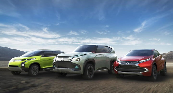 Mitsubishi Reveals Three Green Concepts For The 2017 Tokyo Motor Show
