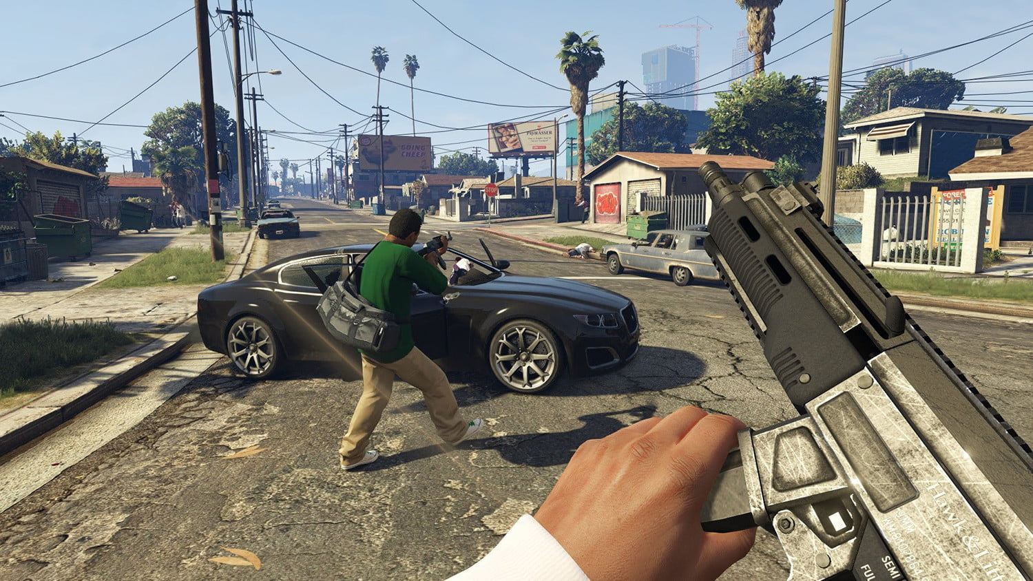MMO return Grand Theft Auto V