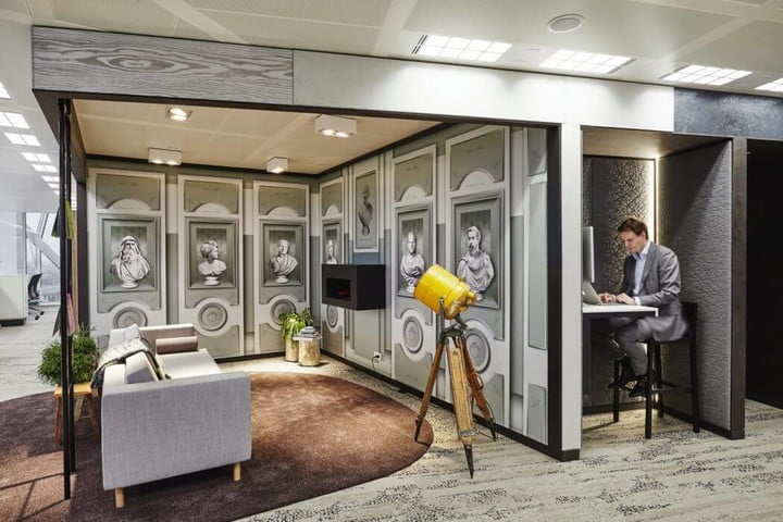 Office relaxation Transition Modern Office Function Relaxation Amsterdam Workspace Digital Trends Modern Office Design Combines Function And Relaxation Digital Trends