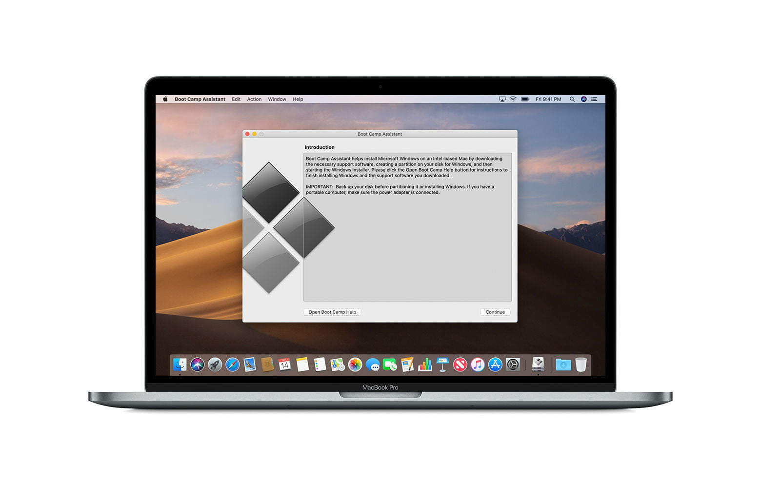 Cómo instalar Windows en un Mac Mojave Boot Camp